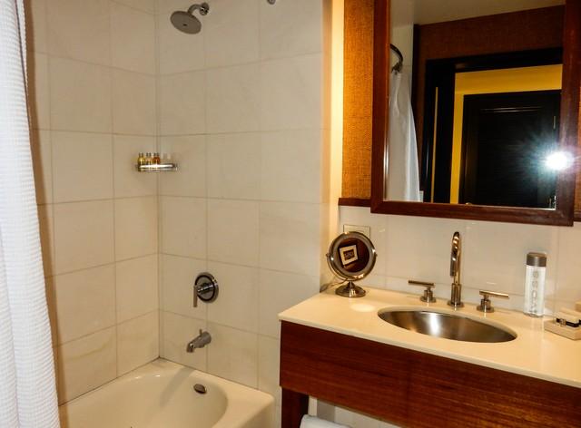 Hotel Valencia Santana Row - Marble Bathroom