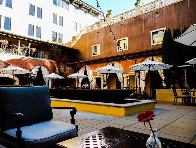 The Terrace at Hotel Valencia Santana Row