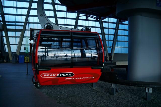 Peak 2 Peak Gondola at Whistler