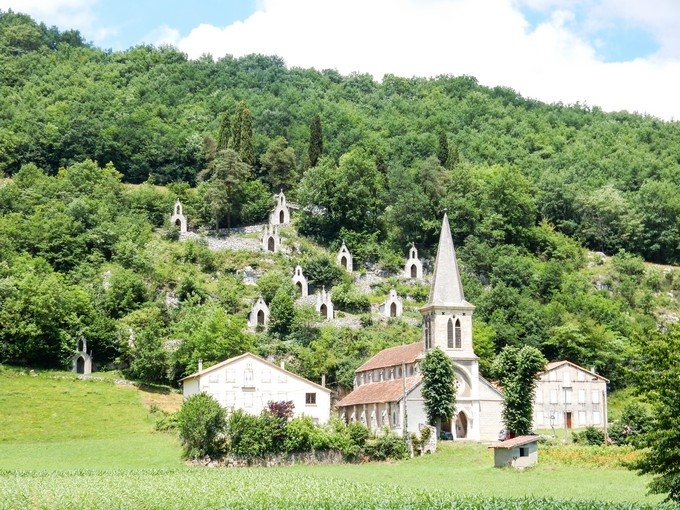 Getting off the beaten path in Ariege Pyrenees, France.