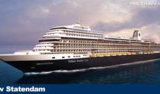 Cruise News: Holland America Line Nieuw Statendam 2019 Destinations