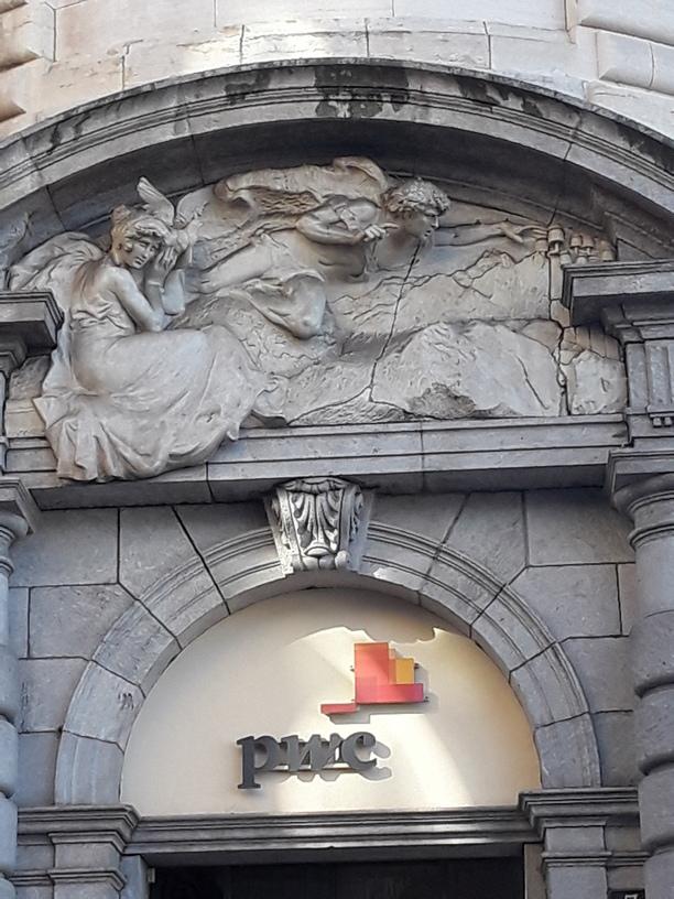 Lugano - European architecture in the city center