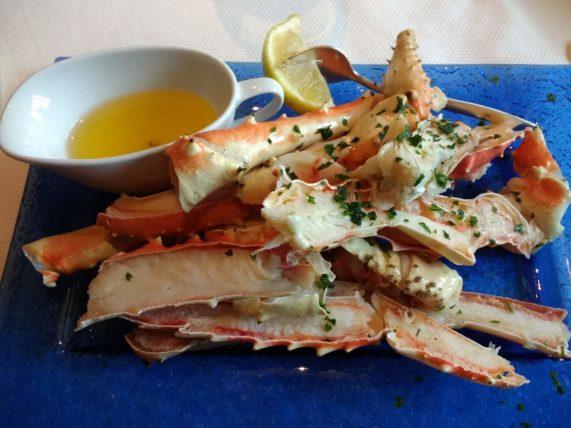 Pinnacle Grill Steamed Alaska King Crab Legs