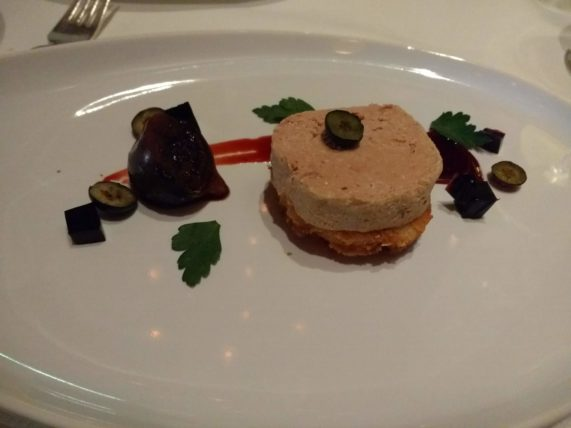 Rudi's Sel de Mer - Foie Gras Torchon appetizer