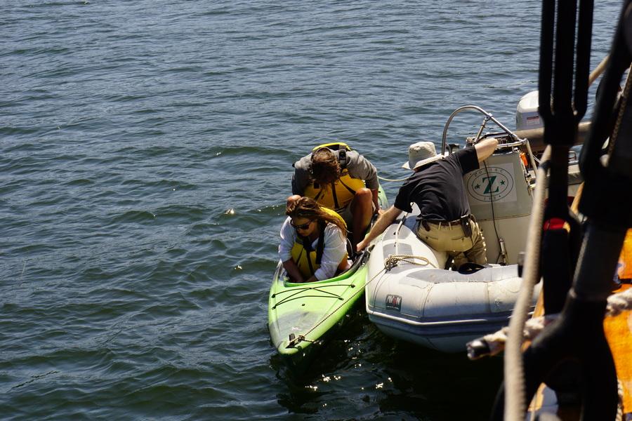 Kayaking in Chuckanut Bay