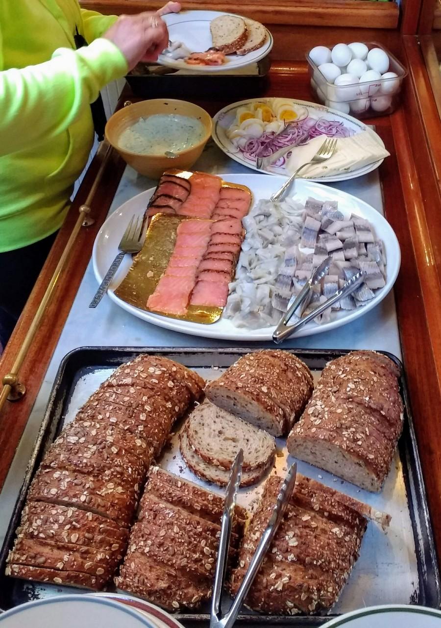 Scandinavian Breakfast Spread