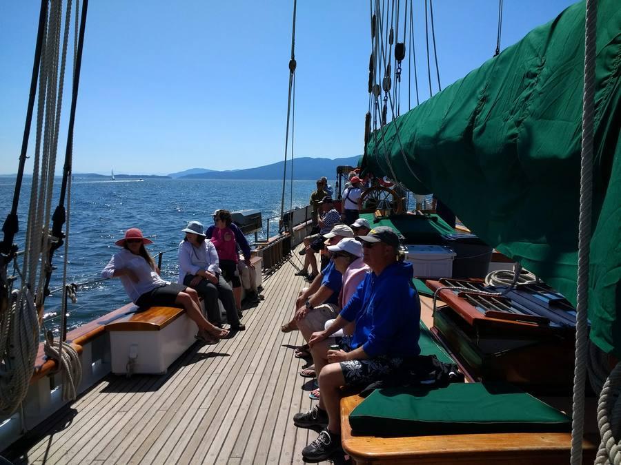 Where will we sail next on Schooner Zodiac?