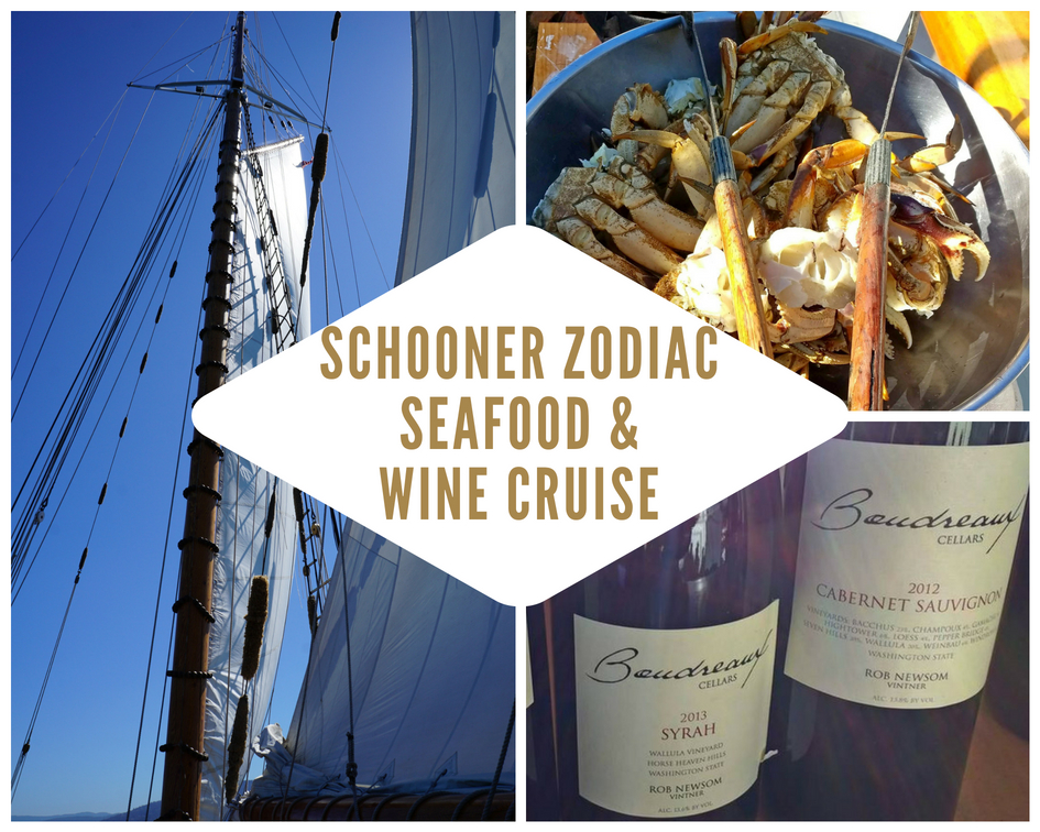 Schooner Zodiac San Juan Islands Seafood and Wine Cruise