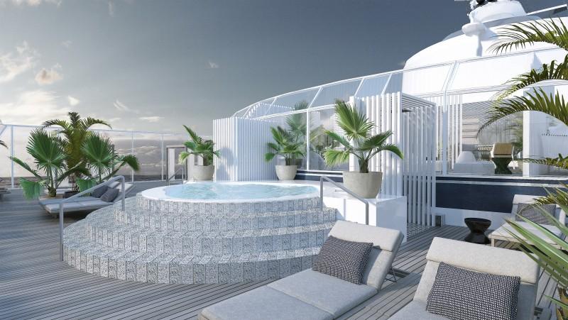 Celebrity Cruises - Suite Sundeck