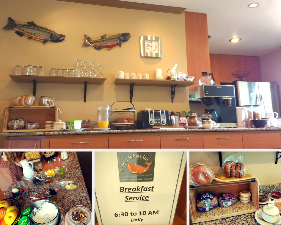 Copper Whale Inn Anchorage - Continental Breakfast