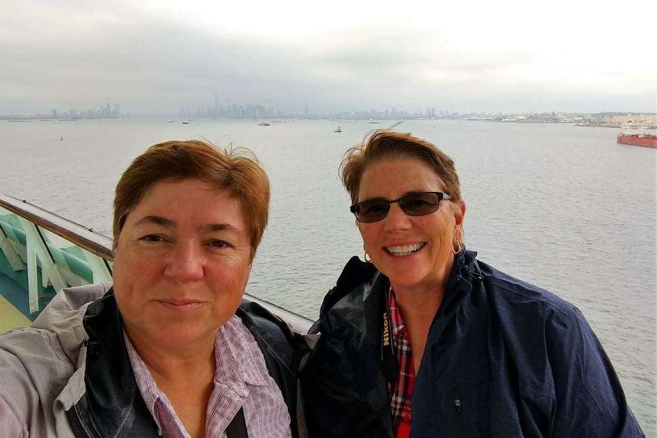 WAVEJourney's Viv and Jill aboard Royal Caribbean Adventure of the Seas