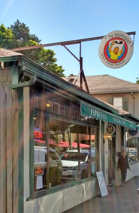 Independent Café in Bar Harbor