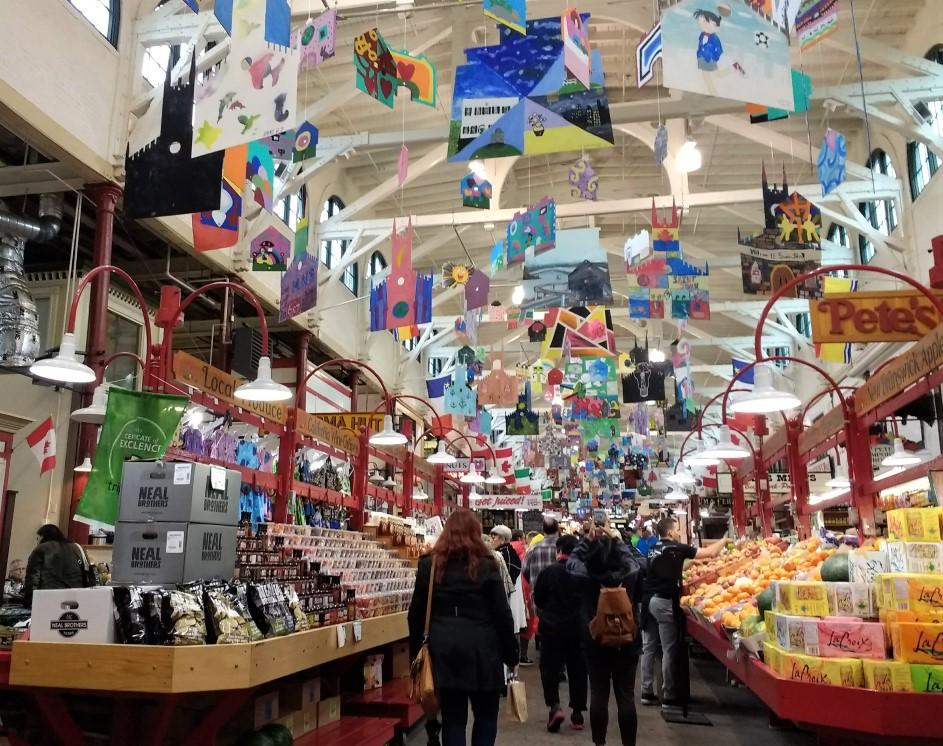 Inside the City Market Saint John, New Brunswick