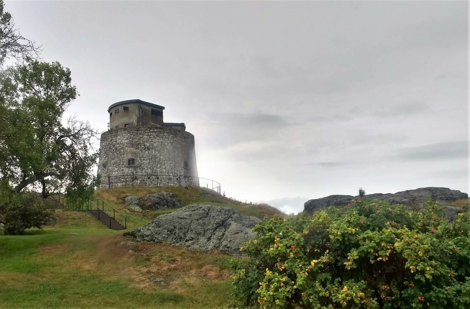 Carleton Martello Tower in Saint John, New Brunswick