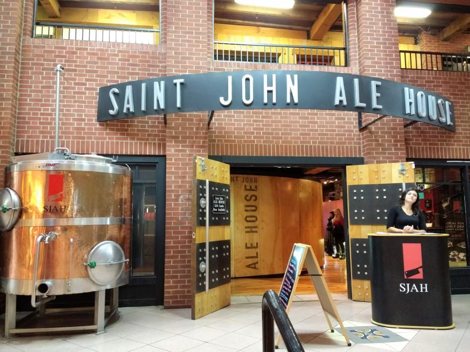 Saint John Ale House in Saint John