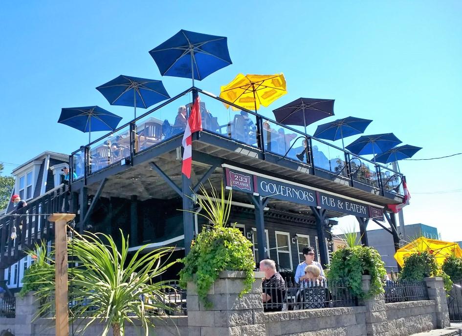 Governor's Pub in Sydney, Nova Scotia
