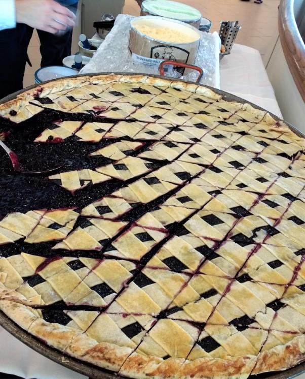 Giant Blueberry Pie