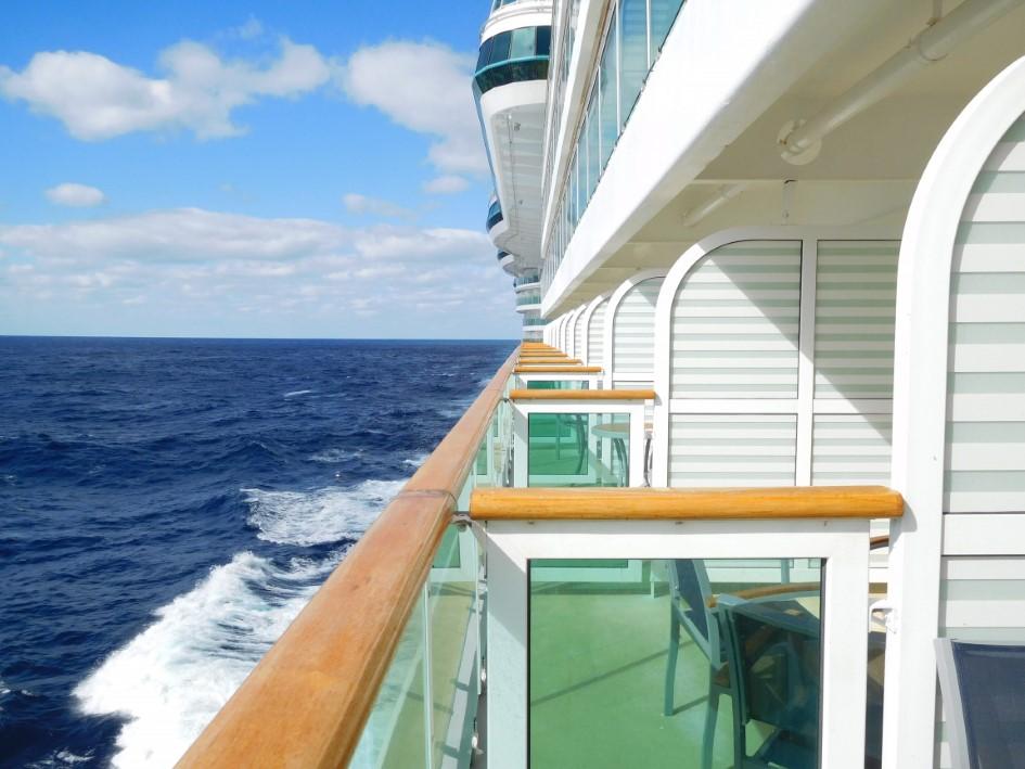 Balconies on Serenade of the Seas