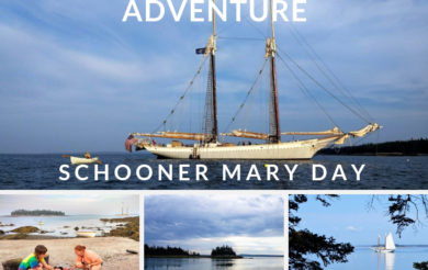 Maine Windjammer Adventure on Schooner Mary Day