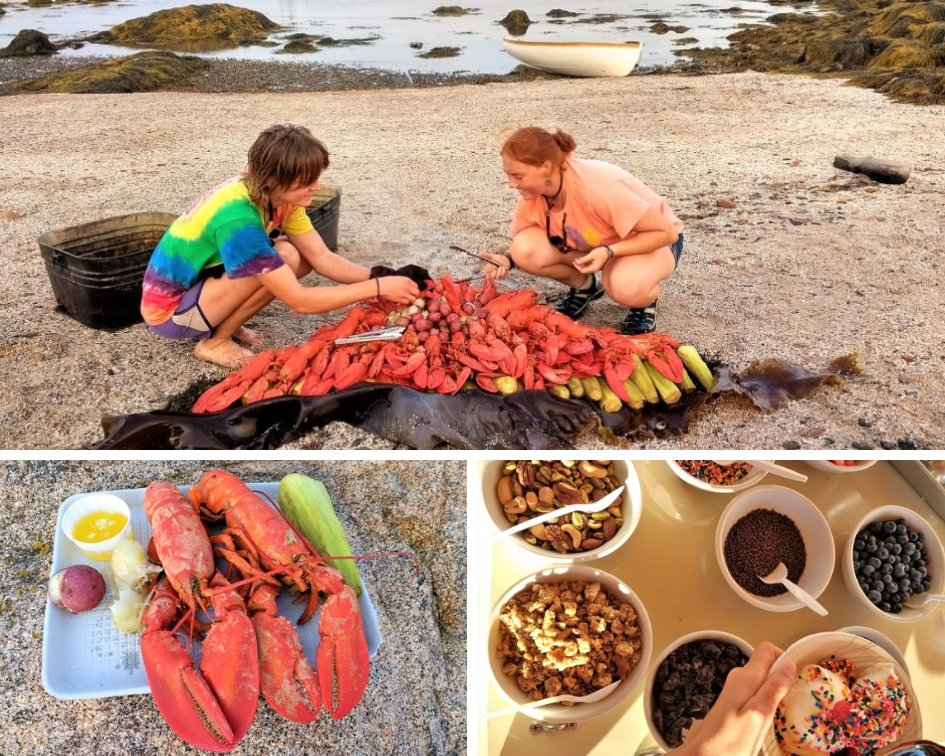 Mary Day Lobster Feast and Ice Cream Bar