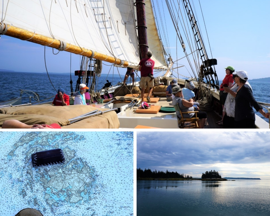 Mary Day Sailing Penobscott Bay, Maine