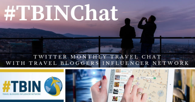 #TBINChat Twitter Monthly Travel Chat