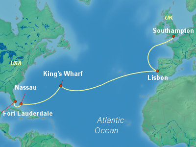 Celebrity Silhouette Transatlantic Cruise 2019