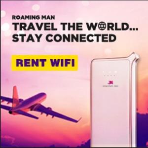 ROAMING MAN 4G WORLDWIDE WI-FI HOTSPOT
