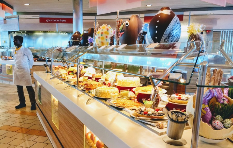 Easter Buffet on Celebrity Silhouette