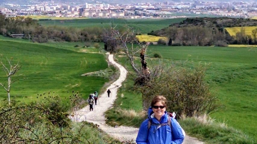 Patti on the Camino Francis