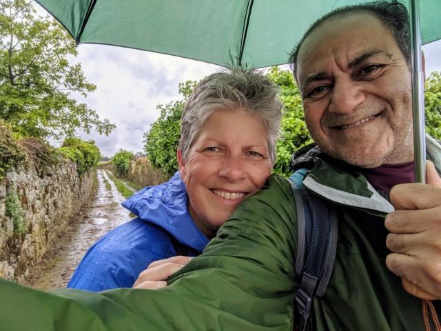 Abi & Patti on the Camino Portuguese