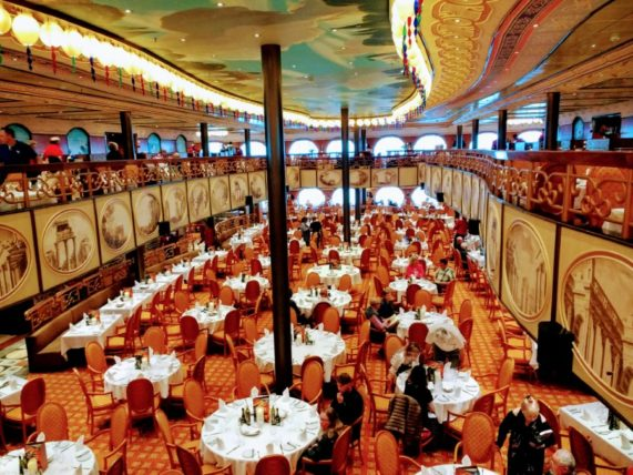 Dining Included in Cruise Fare