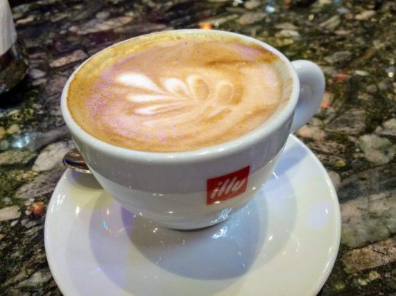 Cappuccino on Costa Mediterranea