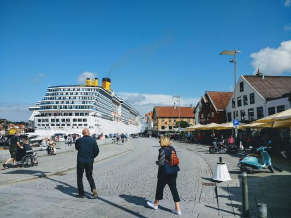 Costa Mediterranea in Stavanger