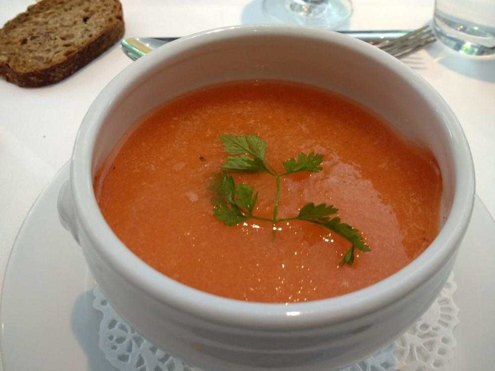 Starter - Chilled Melon Soup