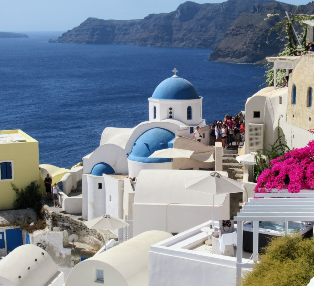 Santorini - Carved from a Volcano